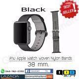 ส่วนลด Apple สาย Apple Watch แบบ Woven Nylon Band ขนาด 38 42 มม 3 สี น้ำเงิน ชมพู ดำ Apple กรุงเทพมหานคร