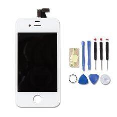 ราคา Apple หน้าจอพร้อมทัสกรีน Iphone 4S สีขาว อุปกรณ์เปลี่ยนจอ ที่สุด