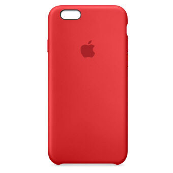 ราคา Apple Iphone 6S Silicone Case Product Red ถูก