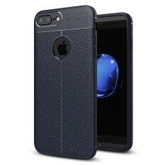 ส่วนลด Apple Iphone 7 Plus 5 5 Case Mooncase Ultra Thin Anti Scratch Imitation Leather Print Back Cover Premium Matte Tpu Protect Cover Intl Apple ใน ฮ่องกง