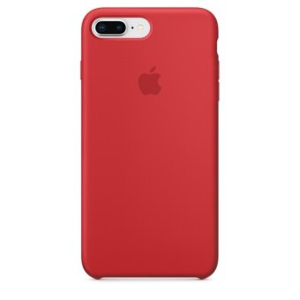 Apple Iphone 8 Plus 7 Plus Silicone Case Product Red เป็นต้นฉบับ