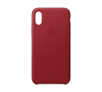 ขาย Apple Iphone X Leather Case Product Red Apple