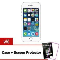 Apple iPhone5S 16 GB (Silver) Free Case+ScreenProtector