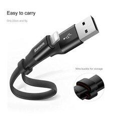 Apple Lightning Usb Charger Cable Baseus Lightning Cable 8 Pin Lightning To Usb Short Charging Cord Data Sync Charging Cord For Iphone 7 7 Plus Ipad Mini Ipad Air Intl ถูก