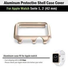 ขาย อลูมิเนียม เคส กันรอย สำหรับ Apple Watch ขนาด 42 Mm ซีรีย์ 1 2 Aluminum Shell Case Cover For Apple Watch 42 Mm Series 2 1 ถูก ใน กรุงเทพมหานคร