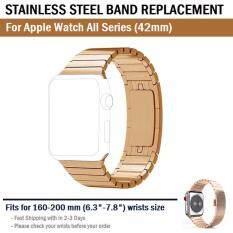 สาย  โลหะ เหล็ก สแตนเลส นาฬิกา Apple Watch (42 mm)-- Link Bracelet Stainless for Apple Watch