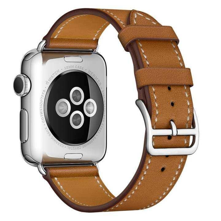 ซื้อที่ไหน APPLE WATCH Band, 38 มิลลิเมตร Venter® Luxury นาฬิกาหนังแท้สายนาฬิกา สายรัดข้อมือสำหรับ 38 มิลลิเมตร Apple Watch