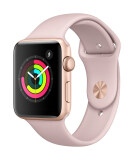 ส่วนลด Apple Watch Series 3 Gps 42Mm Gold Aluminium Case With Pink Sand Sport Band Apple
