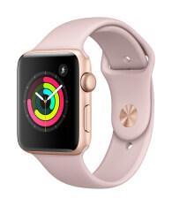 ขาย Apple Watch Series 3 Gps 42Mm Gold Aluminium Case With Pink Sand Sport Band Apple ถูก