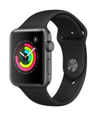 ซื้อ Apple Watch Series 3 Gps 42Mm Grey Aluminium Case With Black Sport Band ออนไลน์ สมุทรปราการ