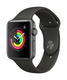 ขาย ซื้อ ออนไลน์ Apple Watch Series 3 Gps 42Mm Space Grey Aluminium Case With Grey Sport Band