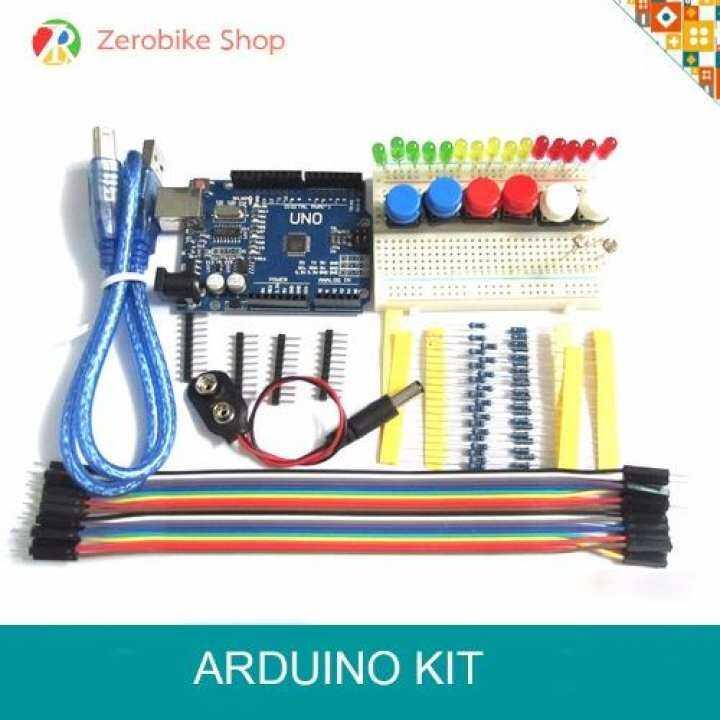 Arduino uno r starter kit ชุดเรียนรู้บอร์ด