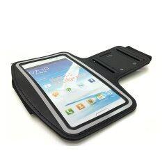 ขาย Armband Samsung Note5 ขนาด5 7นิ้ว เคสใสออกกำลังกาย Sport Case สีดำ ไทย ถูก