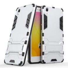 ซื้อ Armor Case Hybrid Heavy Duty Hard Back Cover Case With Kickstand For Vivo Y51 5 Inch Intl Unbranded Generic ออนไลน์