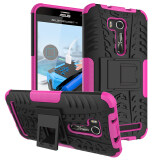 โปรโมชั่น Armor Hybrid Case Cover For Asus Zenfone Go Zb551Kl 5 5 Inch Ze552Kl Pink ใน จีน