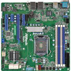 ราคา Asrock Rack E3C232D4U Real Server Motherboard Lga1151 Support Intel Xeon E3 1200V5 Dual Gbe ใหม่