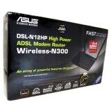 Asus Dsl N12Hp High Power Adsl Modem Router Wireless N300 เป็นโมเด็มAdsl ไวไฟไฮพาวเวอร์ แร๊ง ถูก