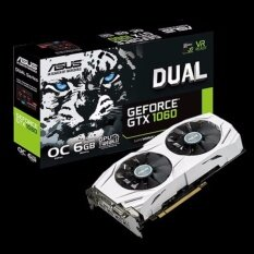 ASUS การ์ดจอ DUAL-GTX1060-O6G GTX 1060 OC GDDR5 6GB