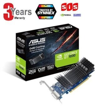 ASUS GeForce® GT 1030 2GB GDDR5 low profile graphics card for silent HTPC build (with I/O port brackets)GT1030-SL-2G-BRK -3 YEARS(BY SYNNEXScannerSIS)