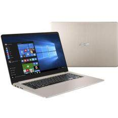 "Asus notebook VivoBook S510UN-BQ208T/I7-8550U/8G DDR4/1TB 54rpm/MX150 2G/15.6""FHD IPS/Win10/free backpack(gold metal/backlight KB/FP)"