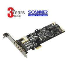 ASUS PCI-Express x1 7.1 Channel Sound Card XONAR_DX/XD/A -3 YEARS (BY SCANNER)
