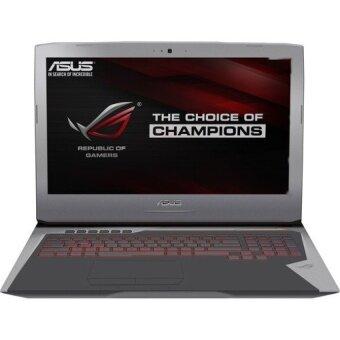 ASUS แล็ปท็อป รุ่น ROG G752VS-GC150T 17.3\ Intel Core i7-6700HQ 4-Cores Skylake 16GB DDR4 GTX1070 8GB (Gray)
