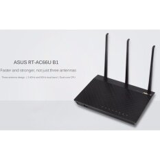 ทบทวน Asus Rt Ac66U B1 Ac1750 Dual Band Wi Fi Router With Asus Router App And Parental Controls