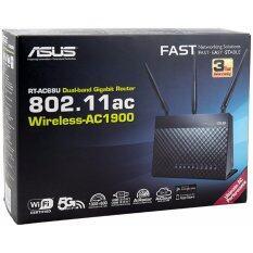 ขาย Asus Rt Ac68U Dual Band Wireless Ac1900 Gigabit Router เป็นต้นฉบับ