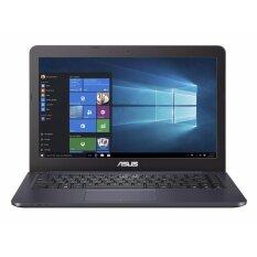 ราคา Asus Vivobook E402Sa 14 Inch Hd Intel Celeron N3060 Processor 32Gb Hdd 4Gb Ram No Odd Win 10 Dark Blue Thailand