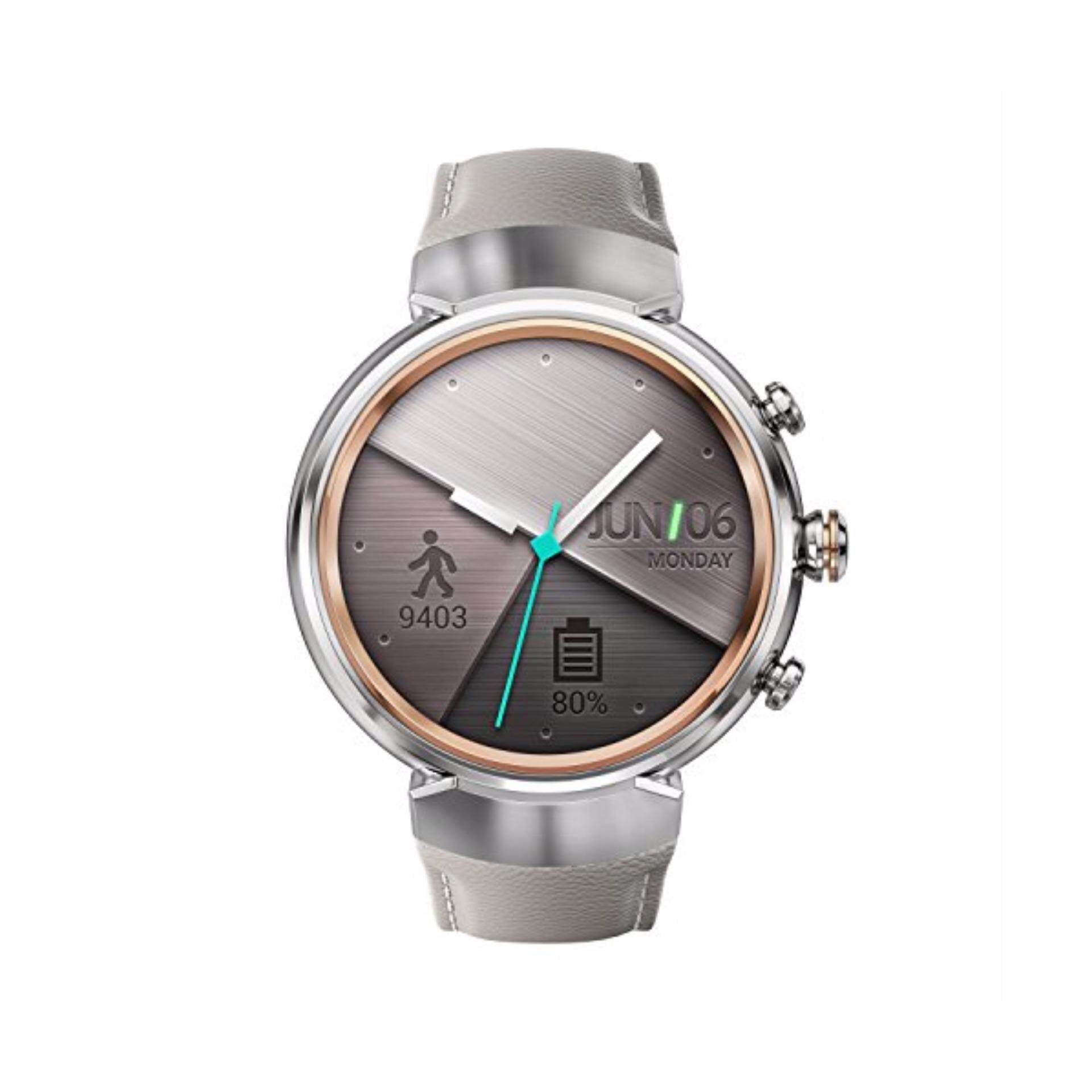 Asus - ZenWatch 3 Smartwatch Stainless Steel