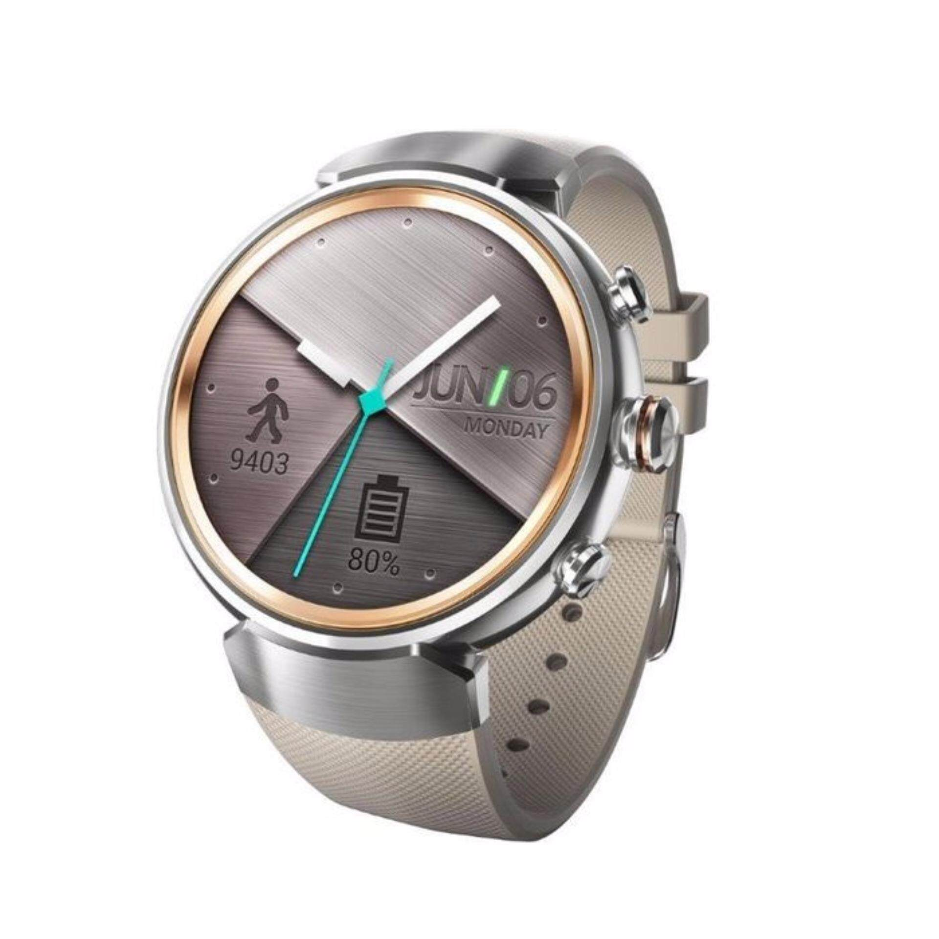 Asus – ZenWatch 3 Smartwatch Stainless Steel