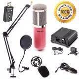 ขาย At First Bm 800 Condensor Microphone ไมค์โครโฟนอัดเสียง ไมค์อัดเสียง Set 7 1 Sound Card Usb Phantom 48V ใหม่