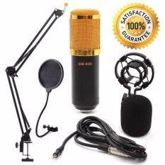 ขาย At First Bm 800 Condensor Microphone ไมค์โครโฟนอัดเสียง Set Black ออนไลน์ นนทบุรี
