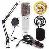 ซื้อ At First Bm 800 Condensor Microphone ไมค์โครโฟนอัดเสียง Set White ถูก นนทบุรี