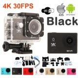 ทบทวน Atm กล้องกันน้ำ Action Camcorder Ultra Hd 4K Wifi สีดำ Atm