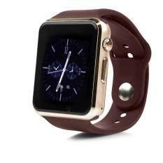 ส่วนลด Atm กล้องนาฬิกาบูลทูธ ใส่ซิมได้ Bluetooth Smart Watch Sim Card Camera รุ่น A8 สีทอง