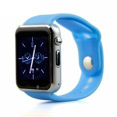 ATM กล้องนาฬิกาบูลทูธ ใส่ซิมได้ Bluetooth Smart Watch SIM Card Camera รุ่น G08 (สีฟ้า)
