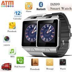 ATM Smart Watch Phone รุ่น DZ09 กล้องนาฬิกาบูลทูธ ใส่ซิมได้ Bluetooth Smart Watch SIM Card Camera แพ็คคู่ 2 เรือน (สีดำ/สีขาว)