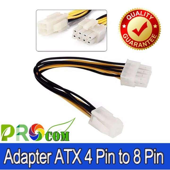 แนะนำ สายแปลง ไฟ ATX 4 Pin ไปเป็น 8 Pin สำหรับไฟเลี้ยง CPU เมนบอร์ด รุ่นใหม่