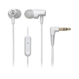 Audio Technica Ath Clr100Is Wh Sonicfuel In Ear Headphones ถูก