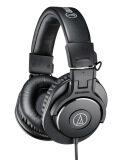 ขาย Audio Technica Ath M30X หูฟัง Fullsize Studio Monitor แบบพับได้ ประกันศูนย์ไทย Black ถูก