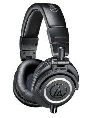Audio Technica ATH-M50x หูฟัง Fullsize Studio Monitor แบบพับได้ หมุนได้ สายถอดได้ ประกันศูนย์ไทย (Black)