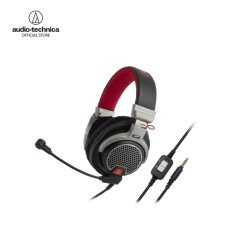 Audio Technica Premium Gaming Headset รุ่น ATH PDG1 - Red