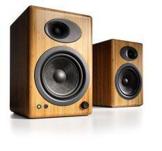Audioengine รุ่น A5+ ลำโพง Hi-Fi  (Bamboo) ประกันศูนย์
