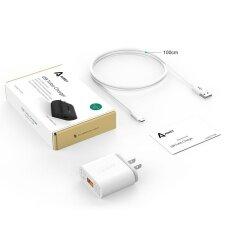 ขาย Aukey 2 Usb Wall Charger Quick Charge Eu Uk Us Plug Turbo Charger Qc2 Travel Charging For Iphone Ipad Apple Samsung 6 Xiaomi Pa U28 Intl ออนไลน์ จีน