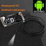 ซื้อ Aukey 7Mm Lens 1M Android Otg Phone Endoscope Ip67 Borescope Led Camera Snake ถูก จีน