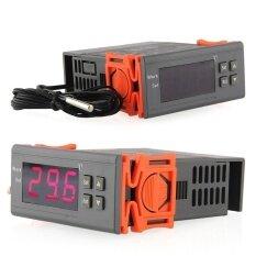 กล้อง Aukey Store สากล 220 โวลต์จอแสดงผลอุณหภูมิเครื่องควบคุมความร้อน Incubation ควบคุมเซนเซอร์-นานาชาติ