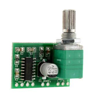 Aukey พลังงานเสียงสเตอริโอ Mp3 บอร์ดโทรโข่ง 2 ช่อง 3วัตต์ควบคุม
