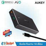 ราคา Aukey Power Bank Qc3 20000Mah แถมสายMicro Usb Powerbank แบตสำรองมือถือขนาด 20000 Mah Powerbank ชาร์จเร็วด้วย Quickcharge Quick Charge 3 พาวเวอร์แบงค์คุณภาพสูง พร้อมสาย Micro Usb ในกล่อง สีดำ ถูก