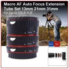 ขาย Auto Focus Macro Extension Tube Ring Set For Canon Eos 70D 100D 600D 1100D ออนไลน์ ใน ฮ่องกง